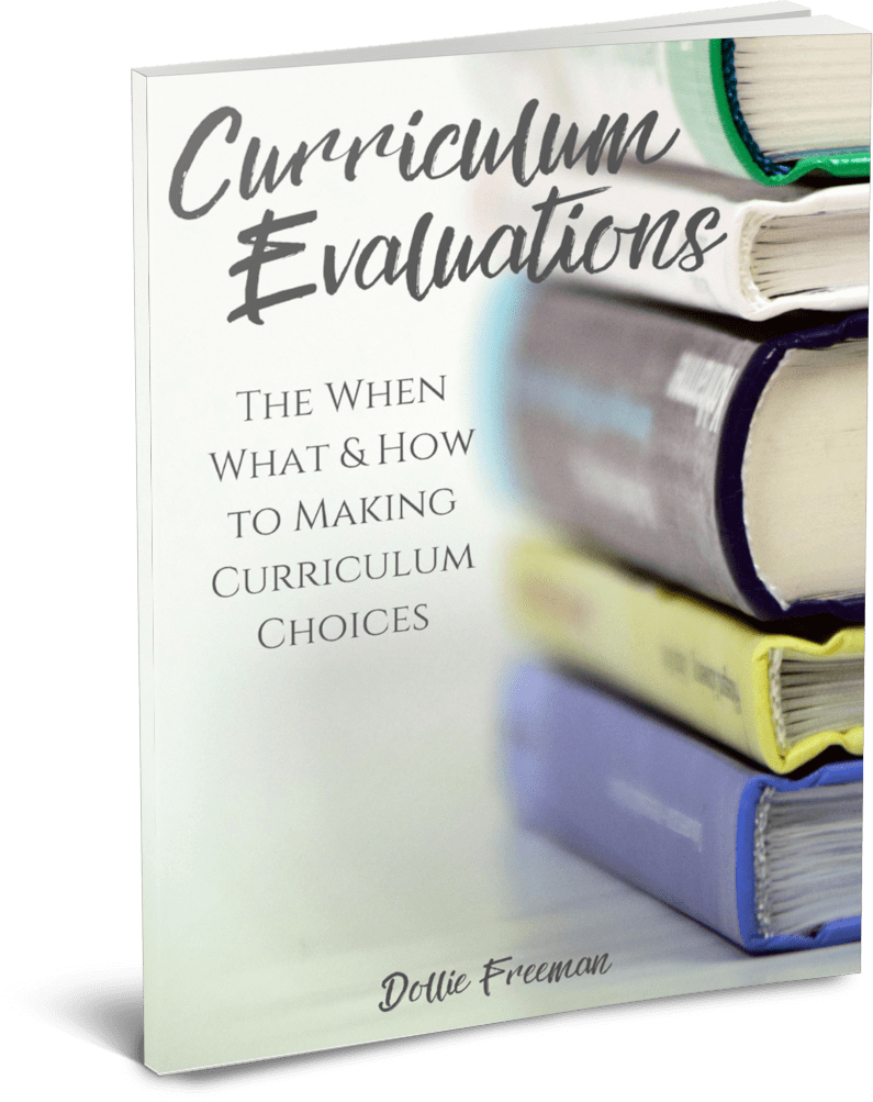 Curriculum Evaluations The When What & How to Making Curriculum Choices | www.joyinthehome.com